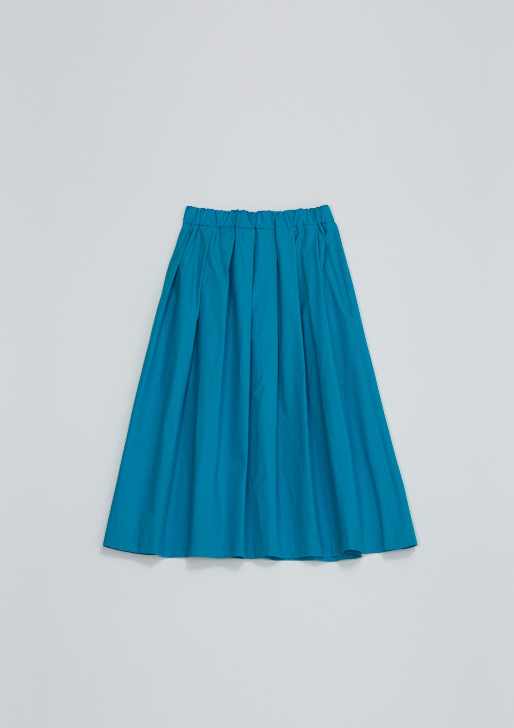 Layla Skirt - Aqua Blue Cotton