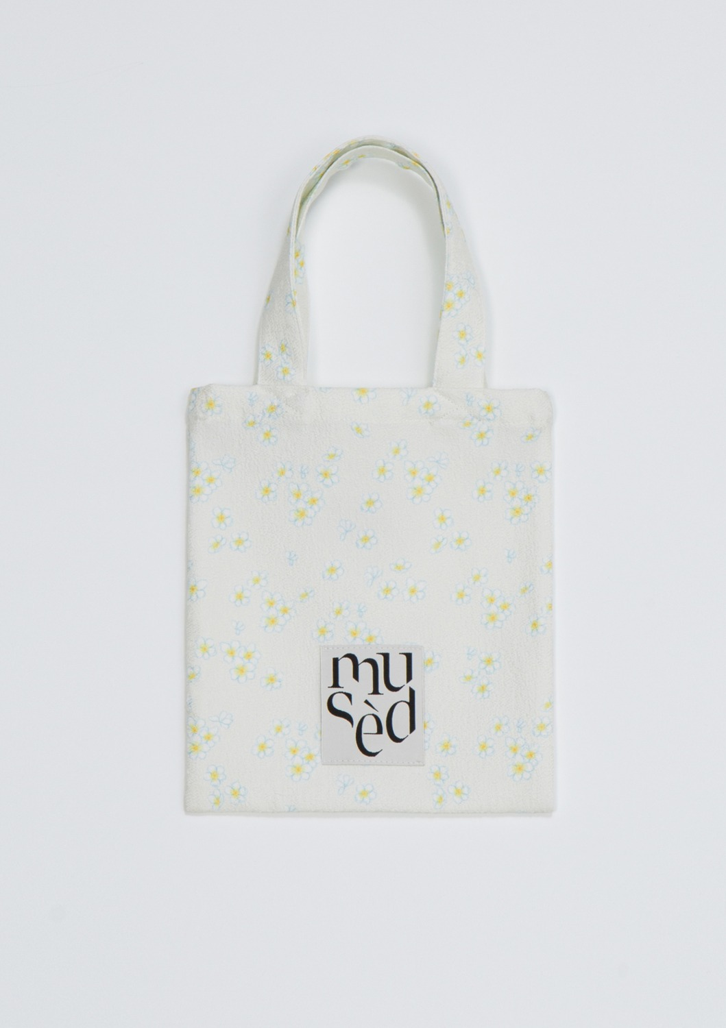 Mused Mini Bag -  Ivory Floral Artwork